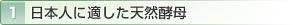 1 日本人に適した天然酵母